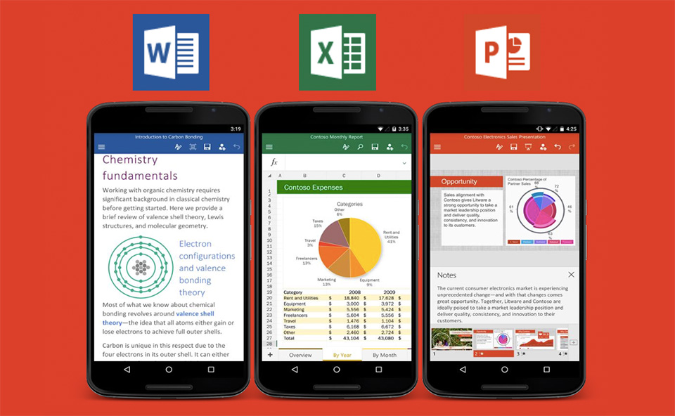Free Microsoft Office Apps for Android Phone Launches