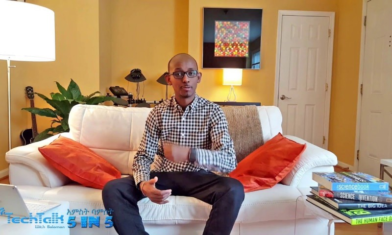 Watch TechTalk With Solomon's 5-IN-5 (አምስት ባምስት) Vlog (Video Blog) Coming Soon