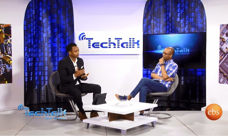 Watch S8 Ep.2 – Interview With Comedian & IT Professional Meskerem Bekele – Tech Talk with Solomon