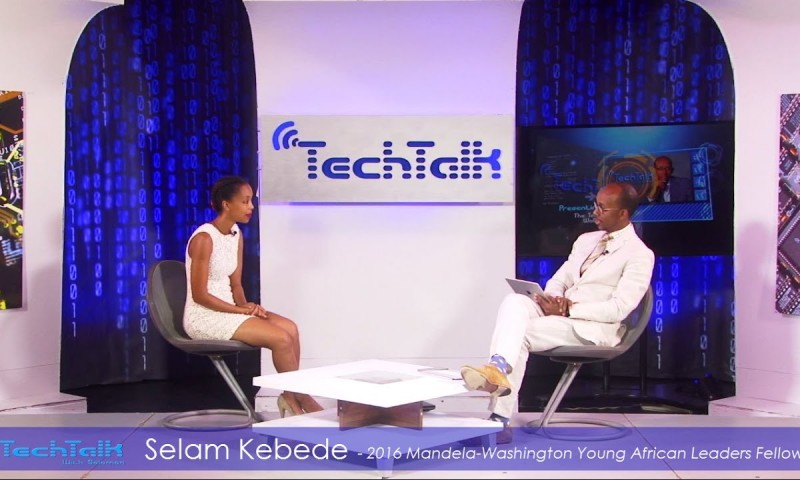 Watch S9 Ep.6 – Selam Kebede, Tech Professional & YALI 2016 Fellow – TechTalk With Solomon